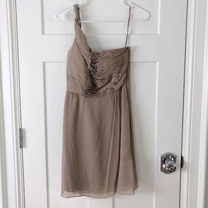 NWT Banana Republic Silk One Strap Dress
